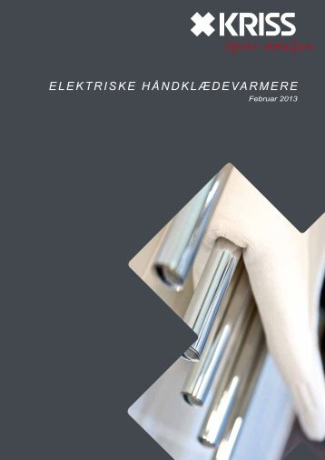 ElEktriskE håndklædEvarmErE - Kriss AS