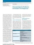 Dermatologische Probleme bei Kindern mit Adipositas - Seite 2