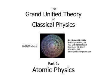 Atomic Physics Slideshow - Black Light Power, Inc.