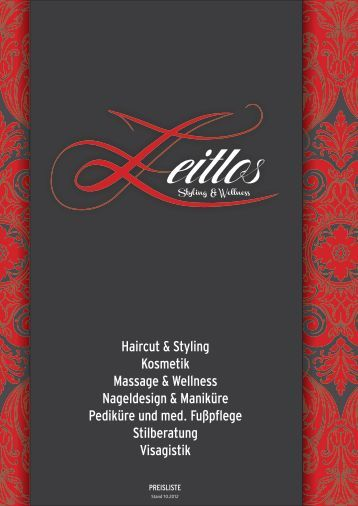 Haircut & Styling Kosmetik Massage & Wellness Nageldesign ...