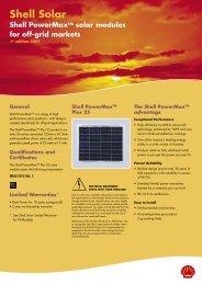 Shell Solar - Intekom