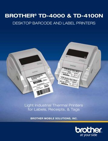 BROTHER MOBILE - Office Printers