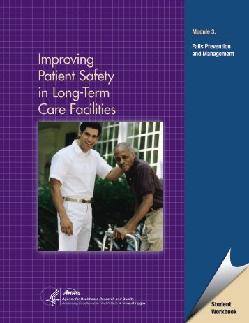 Improving Patient Safety in Long-Term Care Facilities, Module 3