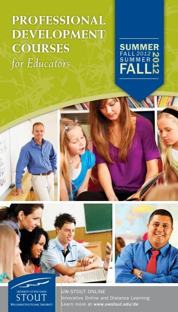 for Educators - University of Wisconsin-Stout