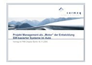 Projekt Management als - PMI Berlin/Brandenburg Chapter eV