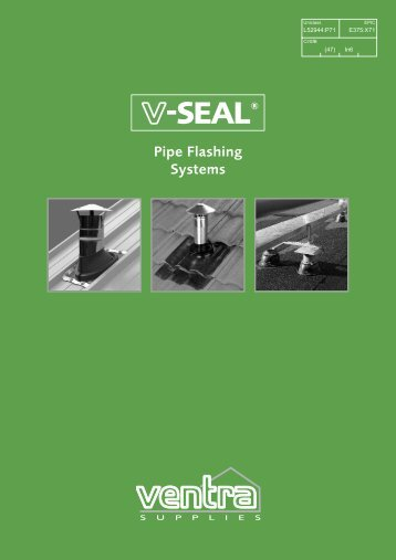 V-SEAL Pipe Flashings For slate and tiled roofs - Brands of Watford