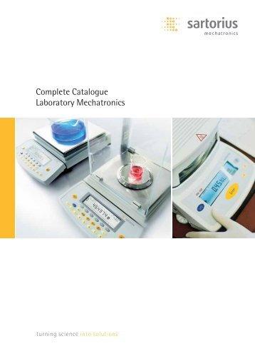 Complete Catalogue Laboratory Mechatronics