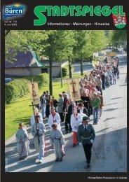 Stadtspiegel Nr. 119 - CDU Büren