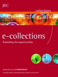 Collections folder draft 2 - Jisc