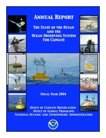 OCO Annual Report: FY 2004 - Office of Climate Observation - NOAA