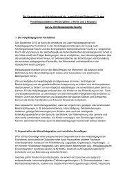 Heilpädagogisches Konzept - Evang.-Luth. Kirchengemeinde Feucht