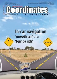 Earth - Coordinates : A resource on positioning, navigation and ...