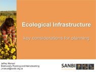 Ecological Infrastructure