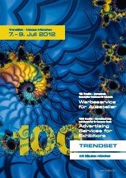 7.– 9. Juli 2012 - TrendSet
