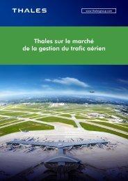 Thales sur le marché de la gestion du trafic aérien - Thales Group