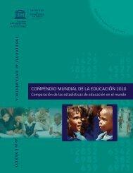 COMPENDIO MUNDIAL DE LA EDUCACIÓN 2010 - Institut de ...