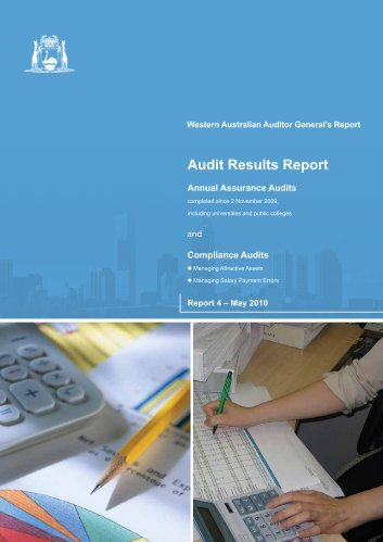 Audit Results Report - Parliament of Western Australia