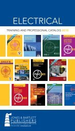 ELECTRICAL - Jones & Bartlett Learning