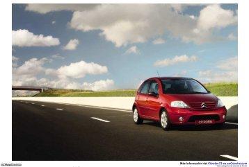 Catálogo del Citroën C3 - enCooche.com
