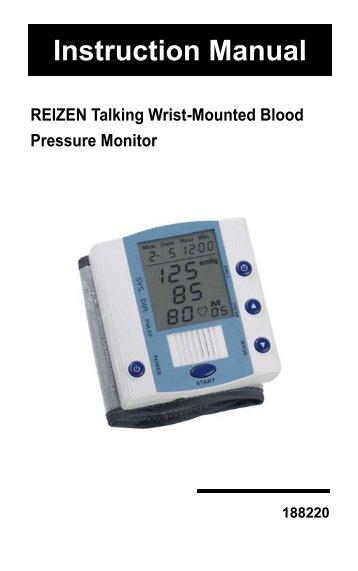 reizen talking watch m9908 manual