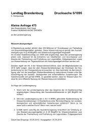 Landtag Brandenburg Drucksache 5/1095