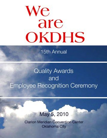 We Are OKDHS - Oklahoma Department of Human Services