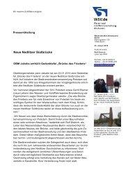 Neue Nedlitzer Südbrücke - OBM Jann Jakobs enthüllt Gedenktafel