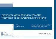 Praktische Anwendungen Von ALM - QX-Club Köln