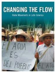 Changing the Flow - Food & Water Watch