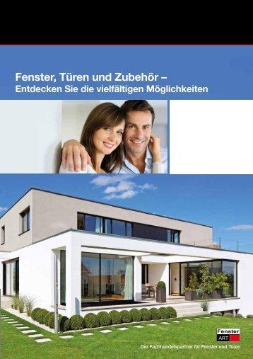 Endkunden-Broschüre als pdf ansehen - FensterART GmbH & Co KG