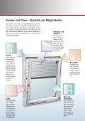 Endkunden-Broschüre als pdf ansehen - FensterART GmbH & Co KG - Seite 2