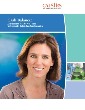 CalSTRS Cash Balance Benefits Booklet - Human ... - Ohlone College