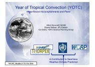 A Contribution to Seamless Weather-Climate Prediction ... - WMO