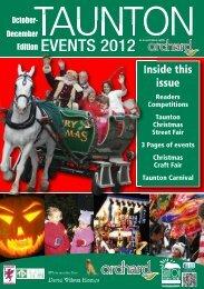 EVENTS 2012 - Taunton