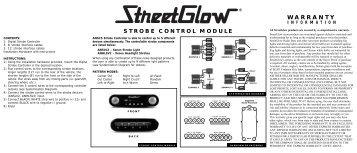 Strobe Control Module - Street Glow