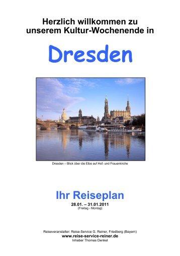 Reiseplan (PDF) Stand 19.01.2011 - Reise-Service G. Reiner ...