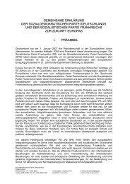 gemeinsame erklärung der sozialdemokratischen partei ...