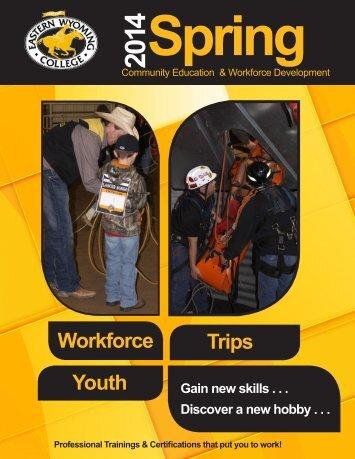 Community Workforce Spring 2014 Catalog - Eastern Wyoming ...