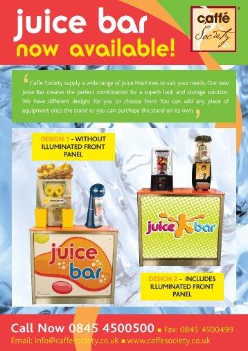 Juice stand flyer v6.qxp - Caffe Society