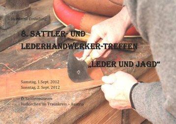 8. SATTLER 8. SATTLER- UND LEDERHANDWERKER ...
