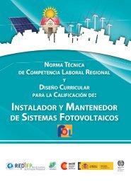 Instalador y mantenedor de sistemas fotovoltaicos - OIT/Cinterfor