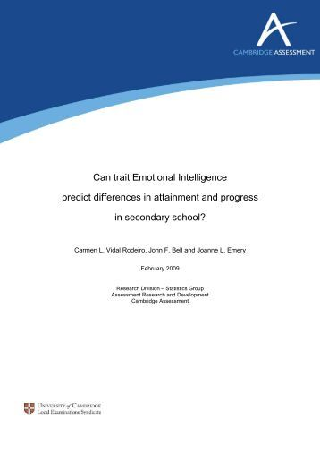 difference in emotional intelligence among gender Some 1,800 will be much higher on eq, and approximately the same  those in  leadership positions, there's essentially no gender difference.