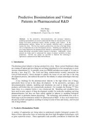 Predictive Biosimulation and Virtual Patients in Pharmaceutical R&D