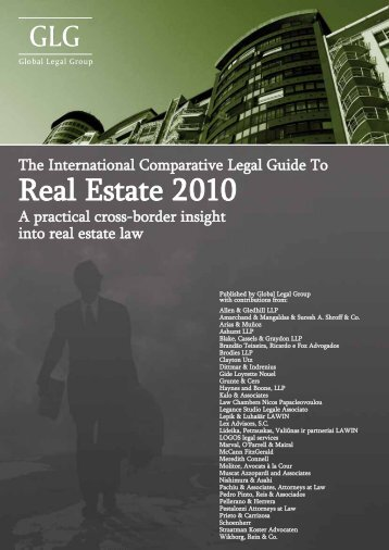 GLG Comparative Legal Guide 2010 Real Estate ... - Pestalozzi