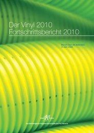 Der Vinyl 2010 Fortschrittsbericht 2010 - Renolit