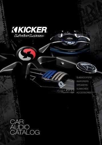 Kicker 2009 - Car Hifi Audio Neuigkeiten und Infos
