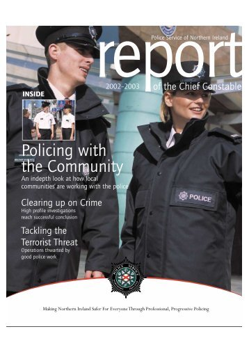 Policing with the Community - Cain - University of Ulster