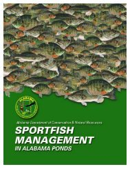 Sportfish Management in Alabama Ponds - eXtension