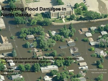 Analyzing Flood Damages in North Dakota - USEHAZUS