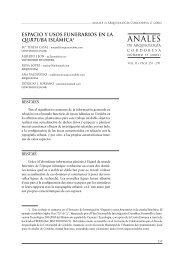 ANALES - Helvia :: Repositorio Institucional de la Universidad de ...